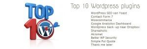 Top 10 WordPress plugins voor zakelijke websites