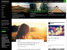 WordPress theme: Twenty Fourteen