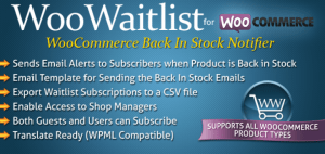 WooCommerce Waitlist plugin