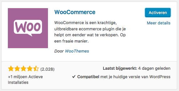 woocommerce-installeren-activeren