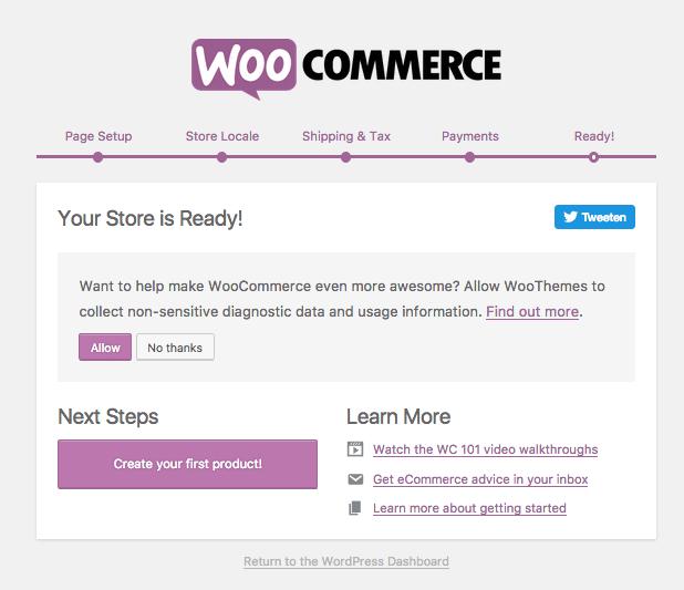 woocommerce-installeren-gereed