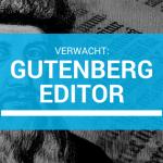 Gutenberg en WooCommerce… er gaat iets veranderen