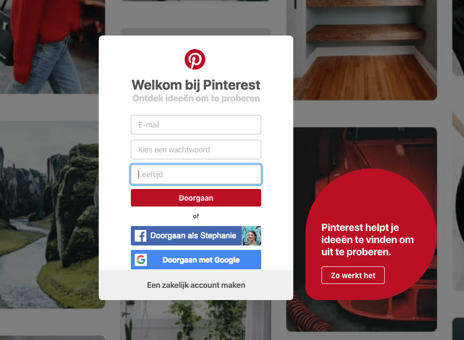pinterest-account-aanmaken