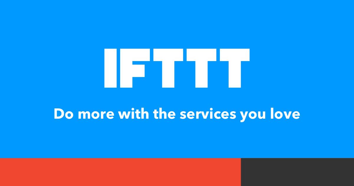 WooCommerce automatiseren met IFTTT