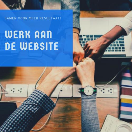 Werk aan de website