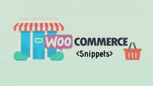 Handige WooCommerce Snippets