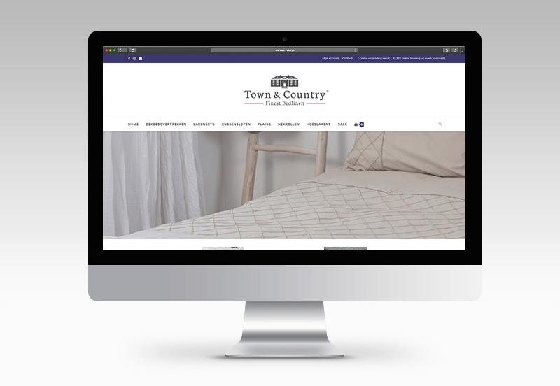 Nieuwe webshop voor Town & Country