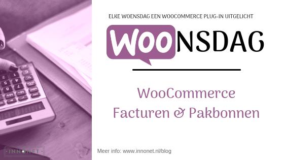 WooCommerce Facturen en Pakbonnen