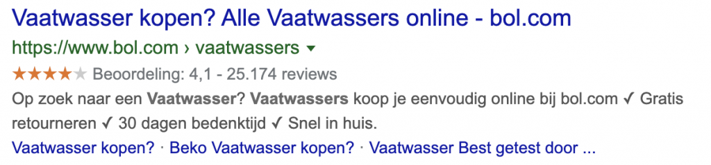 meta description verbeteren