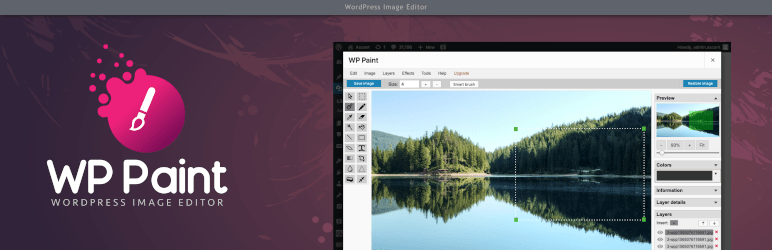 Plug-in: WP Paint – Advanced Image Editor voor WordPress