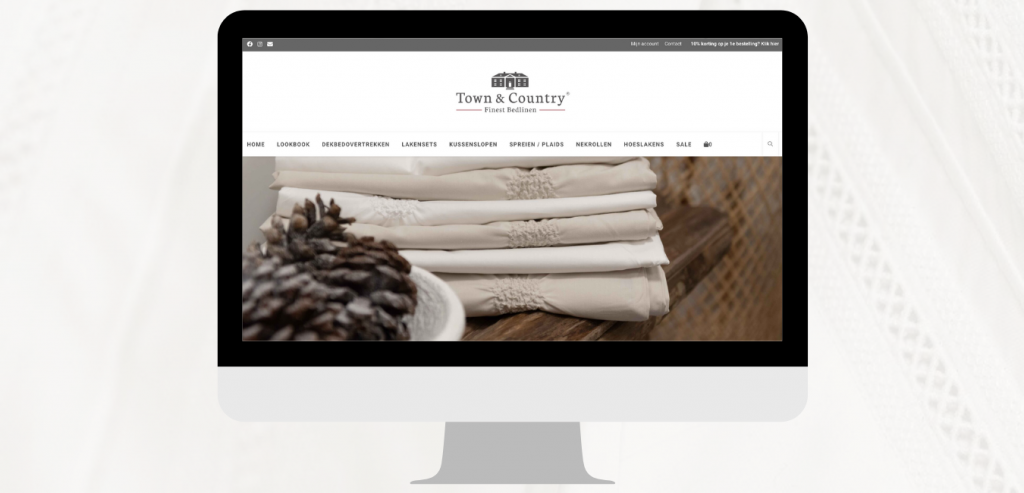 Town & Country WooCommerce webshop